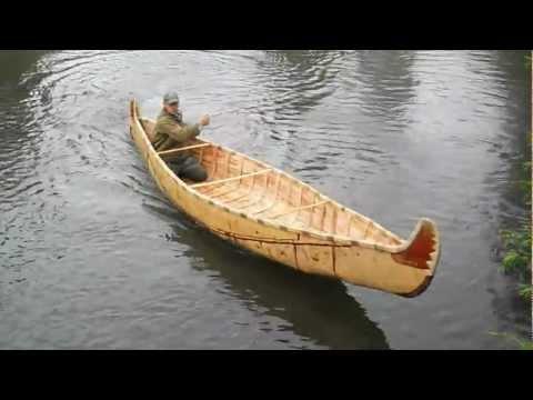 лодка из бересты своими руками