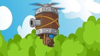 Clash Royale Animation #19: FLYING MACHINE (Parody)