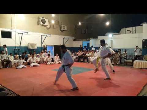 Kyokushin Head Quarter (Gizri) - Belt Promotion Test | Kaata Test | 19-08-2016