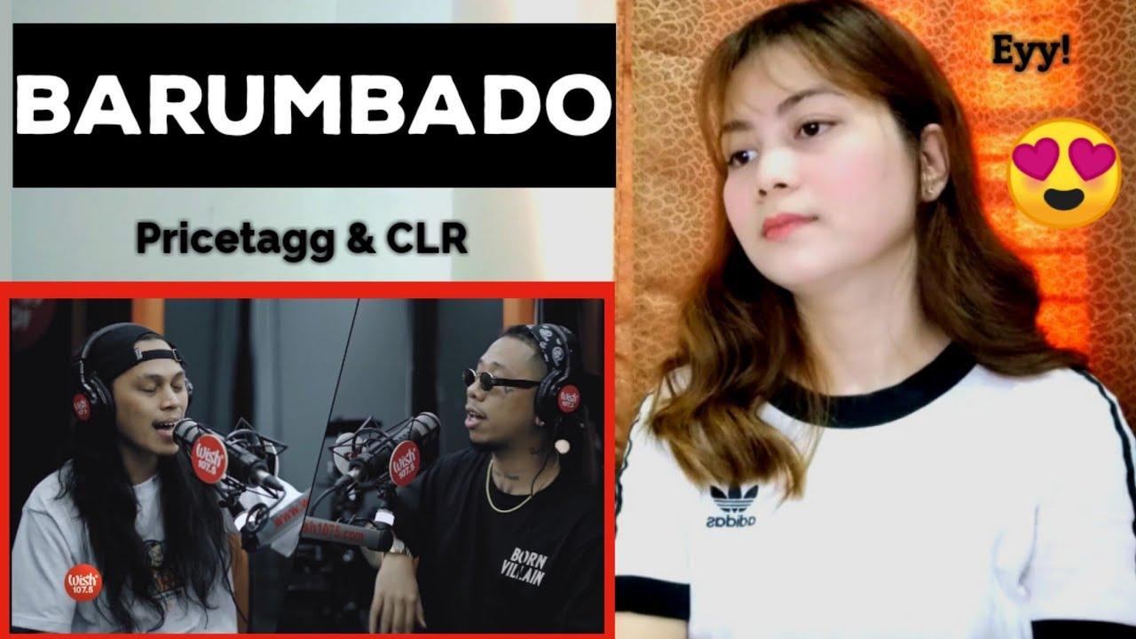 """BARUMBADO"" by Pricetagg, CLR LIVE on Wish 107.5 Bus (REACTION)"