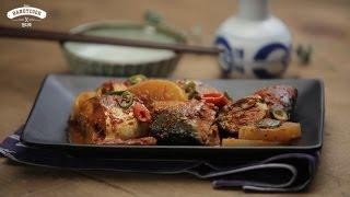 Braised Mackerel (고등어 조림) - korean food recipe ENG ver.