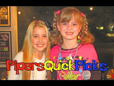 EMILY GRACE REAVES Interview (from the Hannah Montana movie) w Reporter PIPER REESE!! (PQP #029)
