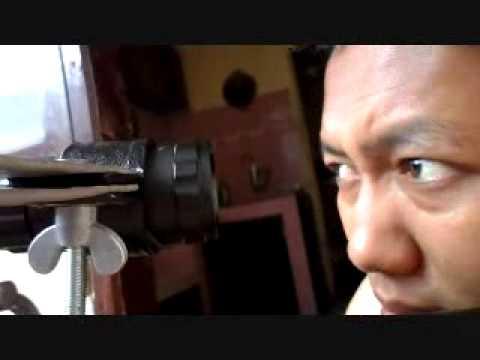 Membuat stand kamera untuk senapan youtube
