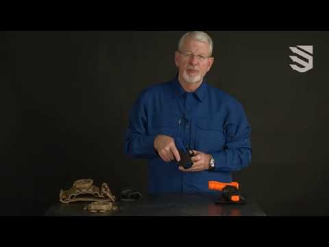 Fast draw, covert carry -- the BLACKHAWK!® SERPA® CQC® Concealment Holster