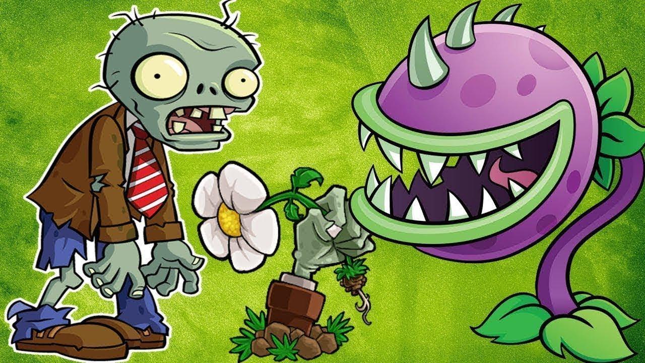 Картинки и игры растенья и зомби