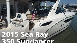 2015 Sea Ray 350 Sundancer: Boat For Sale at MarineMax Dallas Yacht Center