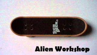 "Tech Deck Storage Case (orange / Alien Workshop) ""review"" (2)"