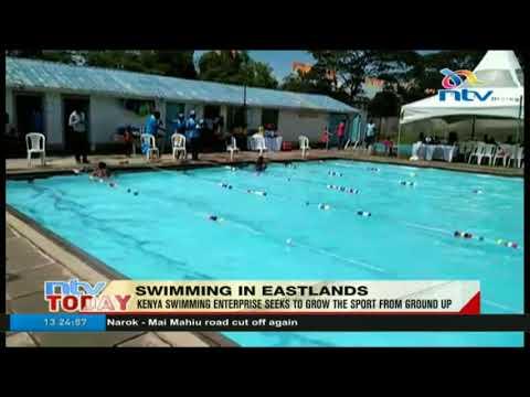 Kenya swimming enterprise seeks to grow the sport