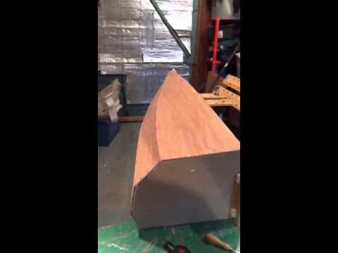 12 X 28 Canoe, Full Size Quarter Section Prototype