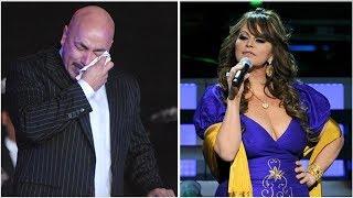 Lupillo rompe en llanto al cantarle a Jenni Rivera