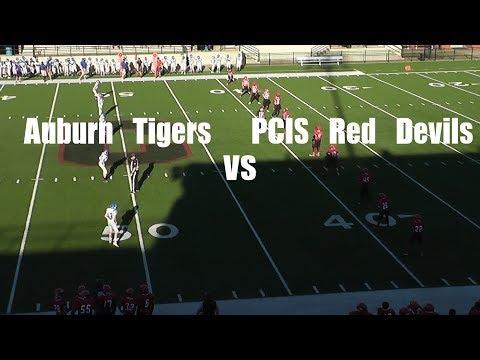Auburn Tigers VS PCIS Red Devils