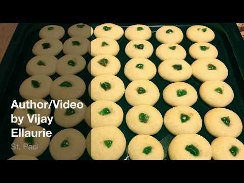 Naan Khatay-Spiced Shortbread Cookie