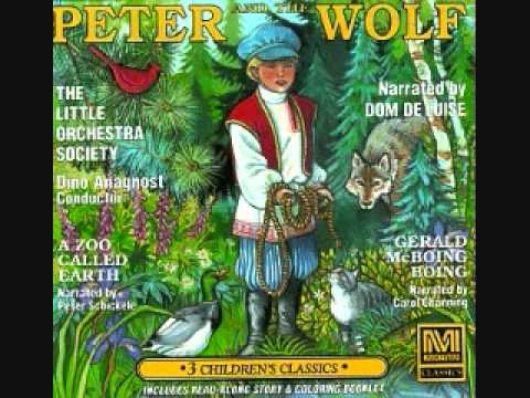 Peter and the Wolf - Dom DeLuise