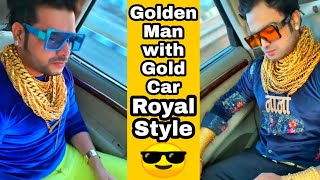 Royal style with Royal personality Sunny Waghchoure Famous In India