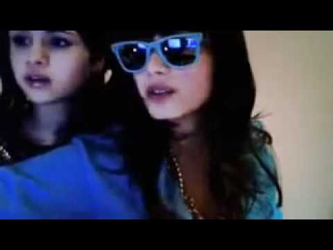 Demi Lovato and Selena Gomez - WEBCAM