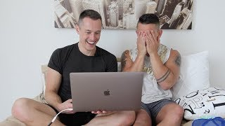 Reacting To My First Gay Porn - Brent Everett