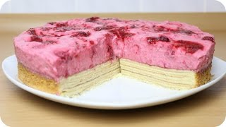 BACKEN | Baumkuchen - Torte mit Himbeercreme | SWEETLIFESUNSHINE