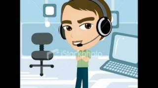 funny call center agent