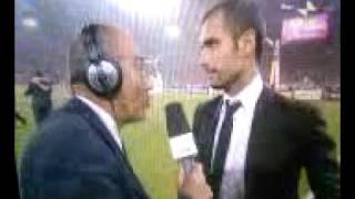 intervista guardiola finale chempions 2009 winner barcellona