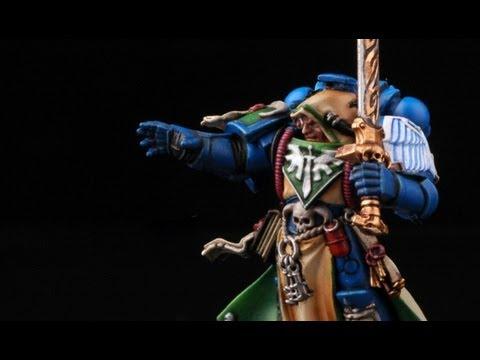 How to paint Dark Angels Librarian Turmiel? Dark Vengeance Warhammer 40k painting tutorial