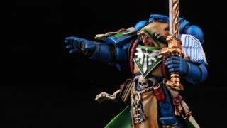How to paint Dark Angels Librarian Turmiel? Dark Vengeance Warhammer 40k painting tutorial