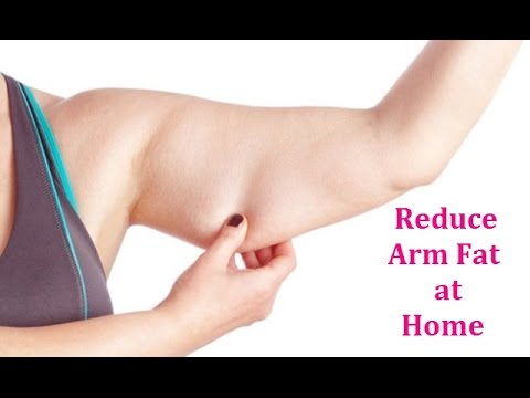 Best way to get fat off upper arms