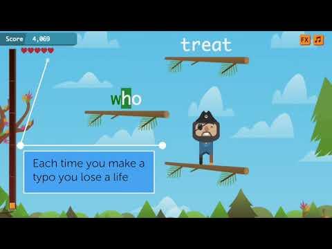 New Typing Game: Keyboard Jump
