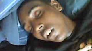 Markese sleeping hard