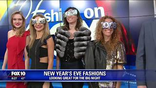 What are you wearing for New Year's Eve? Here's some ideas.