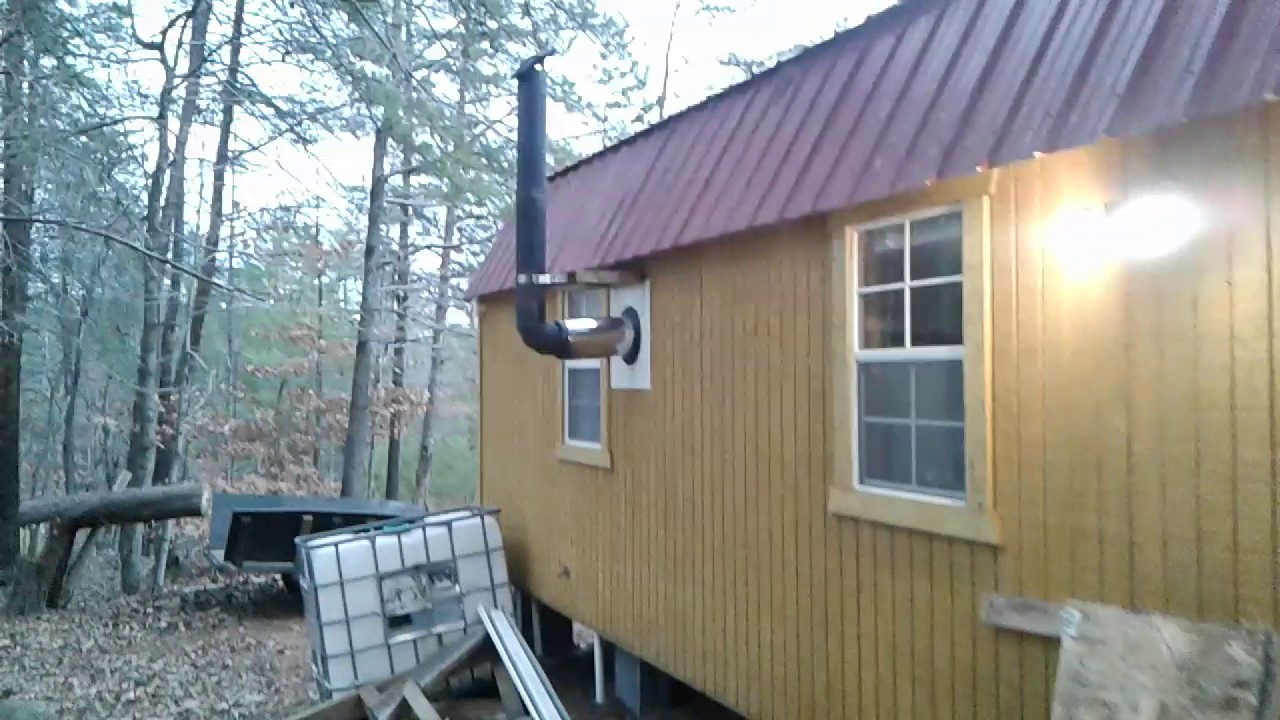 Shed To House Conversion Youtube