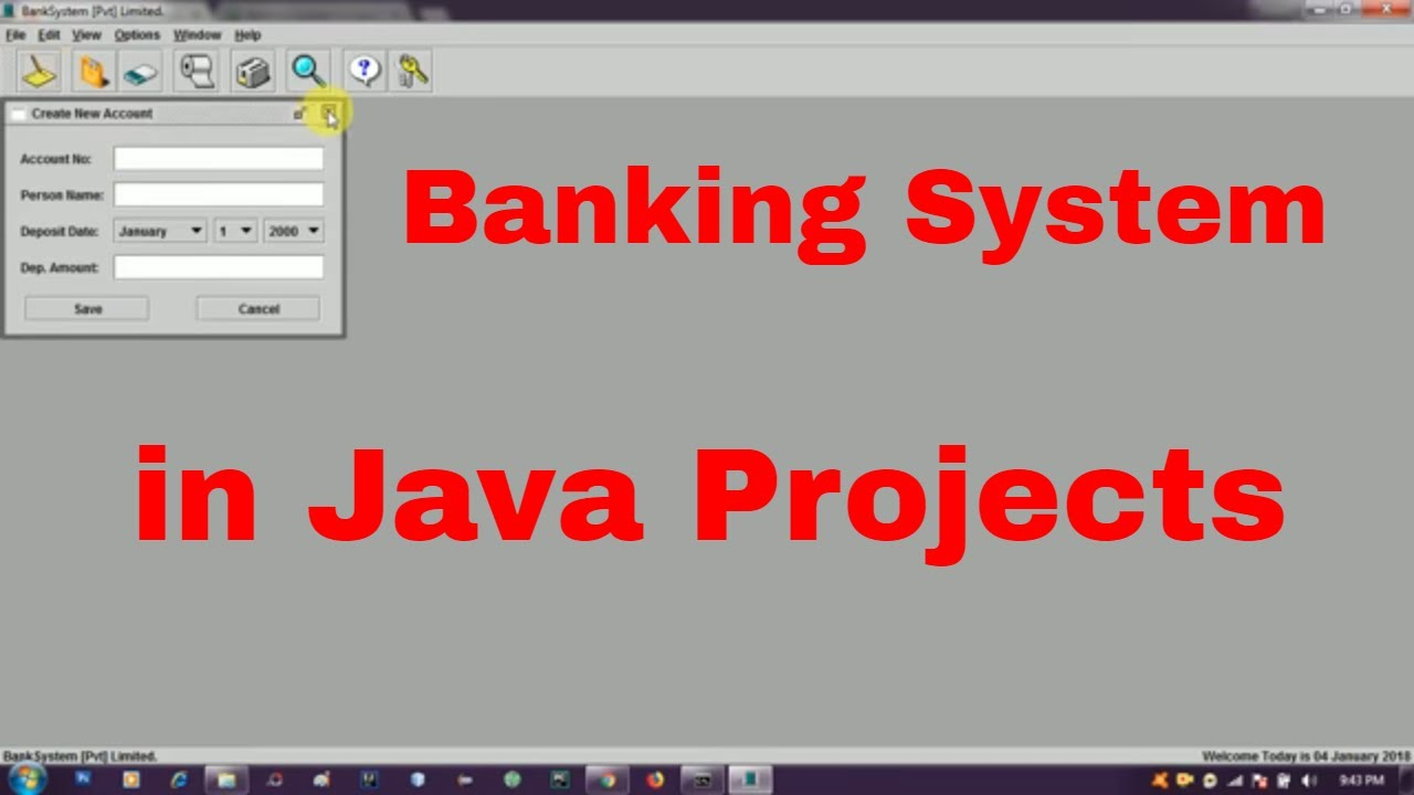 Freeware Banking Software Banking System In Java Source Code