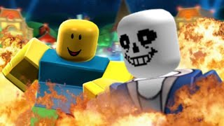When UNDERTALE is passed to THE ROBLOX 👌