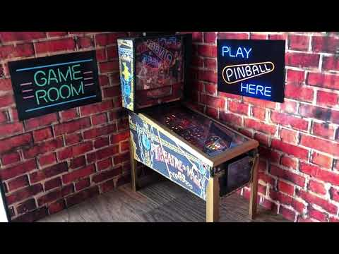 Theatre of Magic miniature pinball table model in 1/12th scale