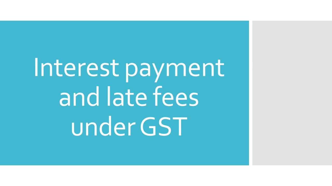 Image result for gst late fees