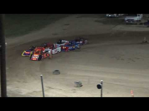 Mini Wedge Heat Race #2 at Crystal Motor Speedway, Michigan, on 09-16-2017!
