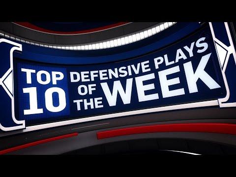 Top 10 Defensive Plays of the Week 1.8.17 - 1.14.17