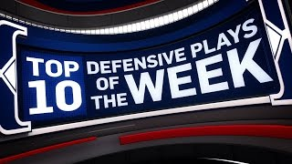 Top 10 Defensive Plays of the Week 1.8.17 - 1...