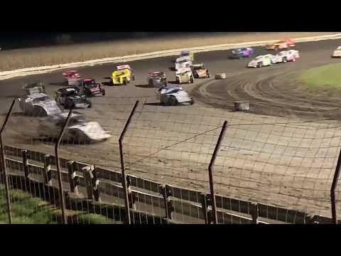 Lee County Speedway Shiverfest Sport Mod Feature part 1 10-27-19