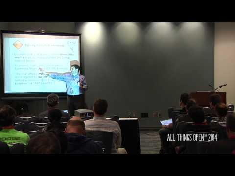 All Things Open 2014 | Andrew Hall | Open Source Licensing And Business Models