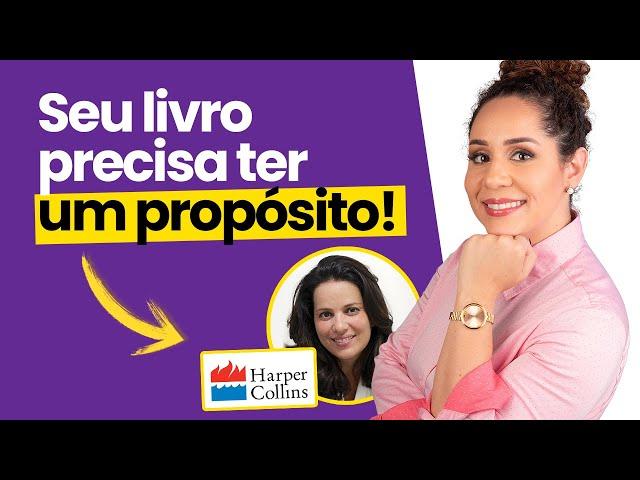 Como escrever um livro inesquecível! Diretora de Marketing e Vendas da HarperCollins Brasil revela 📖