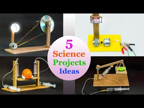 5 School Science Project Ideas