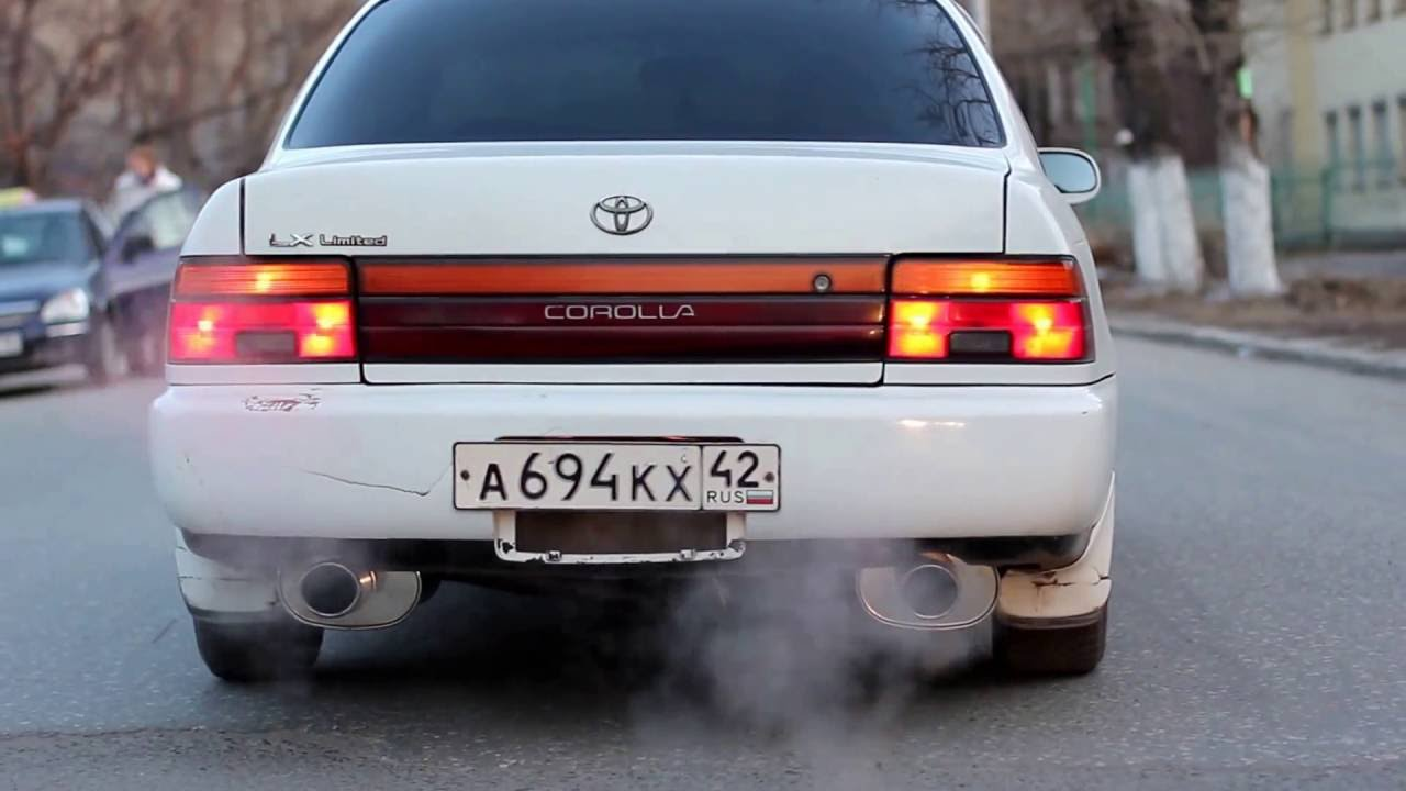 Ae100 Corolla Apexi Exhaust Mufflers Sexy Sound Part2