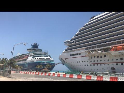 My First Time in Aruba!  Carnival Magic!