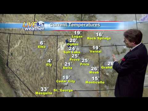 Dan Pope Weather 6 AM KSL-TV 11.29.2010