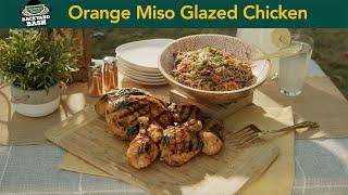 Orange Miso Glazed Chicken recipe with Kevin Rathbun  Sanderson Farms Backyard Bash