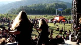 Vomitory - Serpents live @ Kaltenbach Open Air 2009