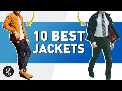 10 BEST JACKETS for Stylish Guys | Men's Style & Fashion Inspiration