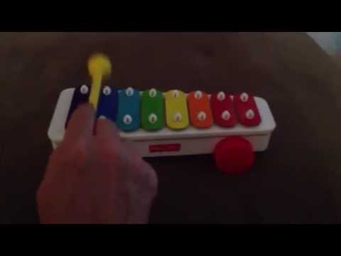 Where is Thumbkin notes for Fisher Price Xylophone