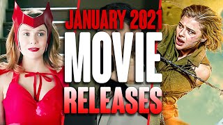 MOVIE RELEASES YOU CAN'T MISS JANUARY 2021