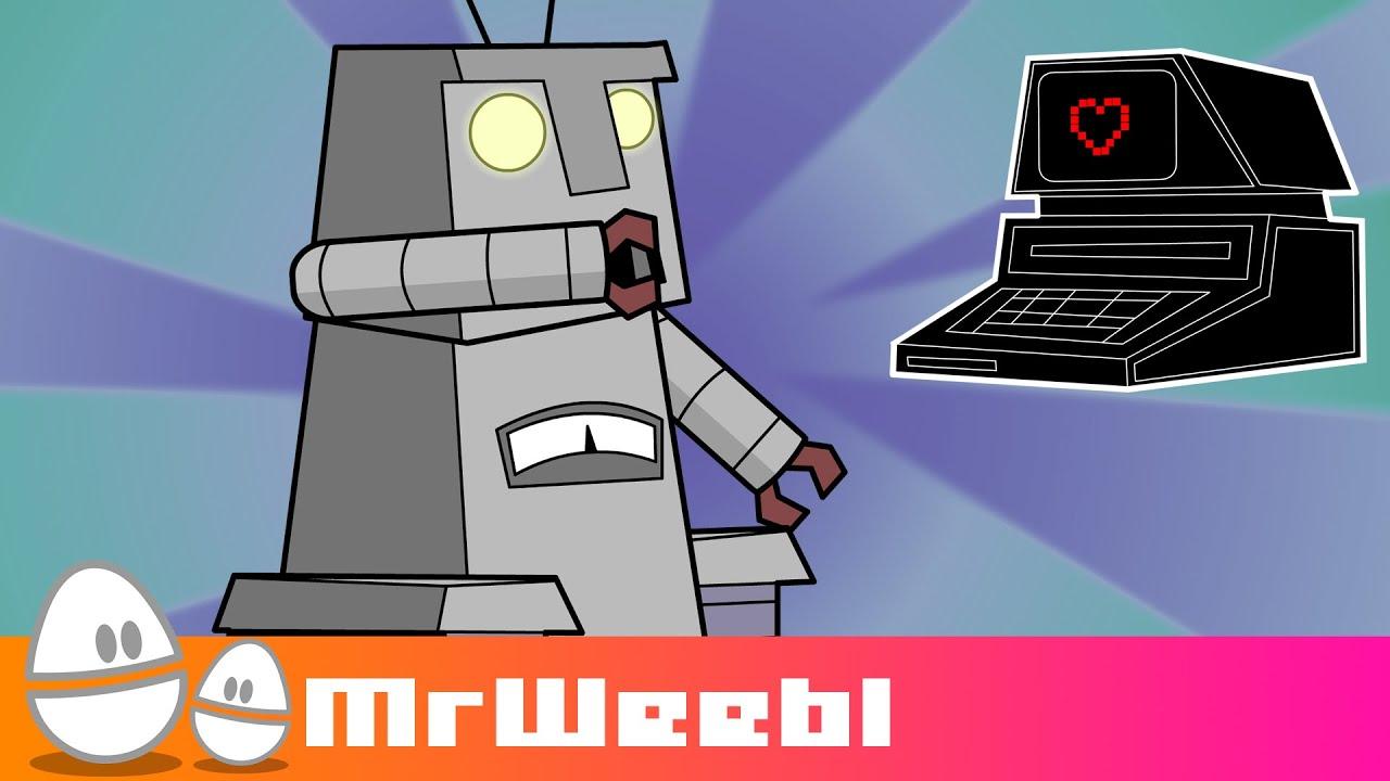 Sexy Robots : animated music video : MrWeebl